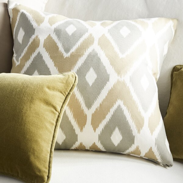 Annamaria Diamond Printed Throw Pillow by Zipcode Design
