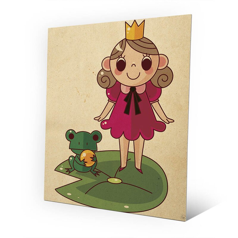 Click Wall Art Princess and the Frog Graphic Art on Plaque & Reviews ...