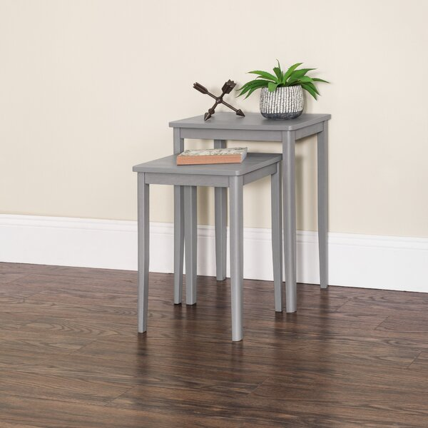 Mohawk Solid Wood Nesting Tables By Ebern Designs