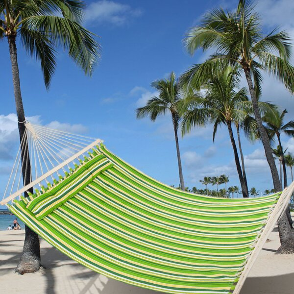 Mccart Double Spreader Bar Hammock by Rosecliff Heights