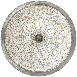 Read Reviews Mosaic Metal Circular Undermount Bathroom Sink By Linkasink