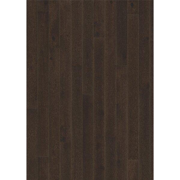 Classic Nouveau 7-3/8 Engineered Oak Hardwood Flooring in Black by Kahrs