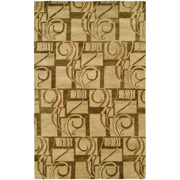 Hand-Tufted Gold Area Rug by The Conestoga Trading Co.