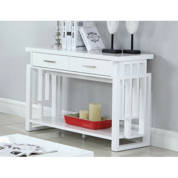 Read Reviews Laudalino Console Table