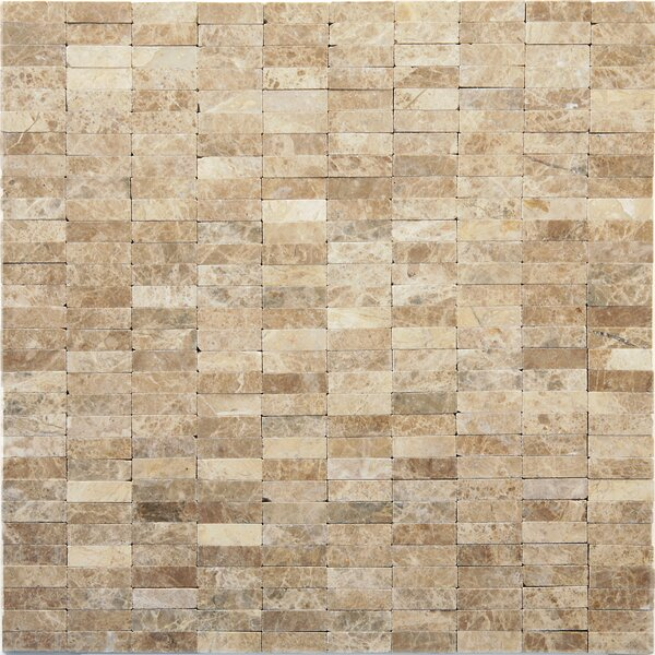 Post Modern Marble Mosaic Tile in Degas by Solistone