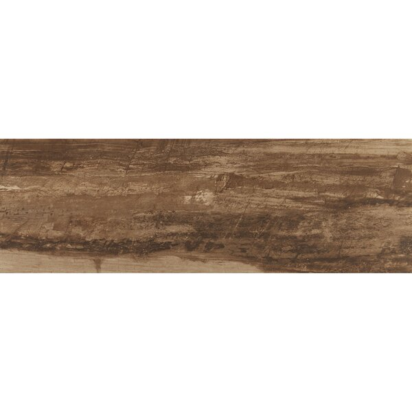 Mansfield 12 x 36 Porcelain Wood Look Tile in Muddy Banks by Itona Tile
