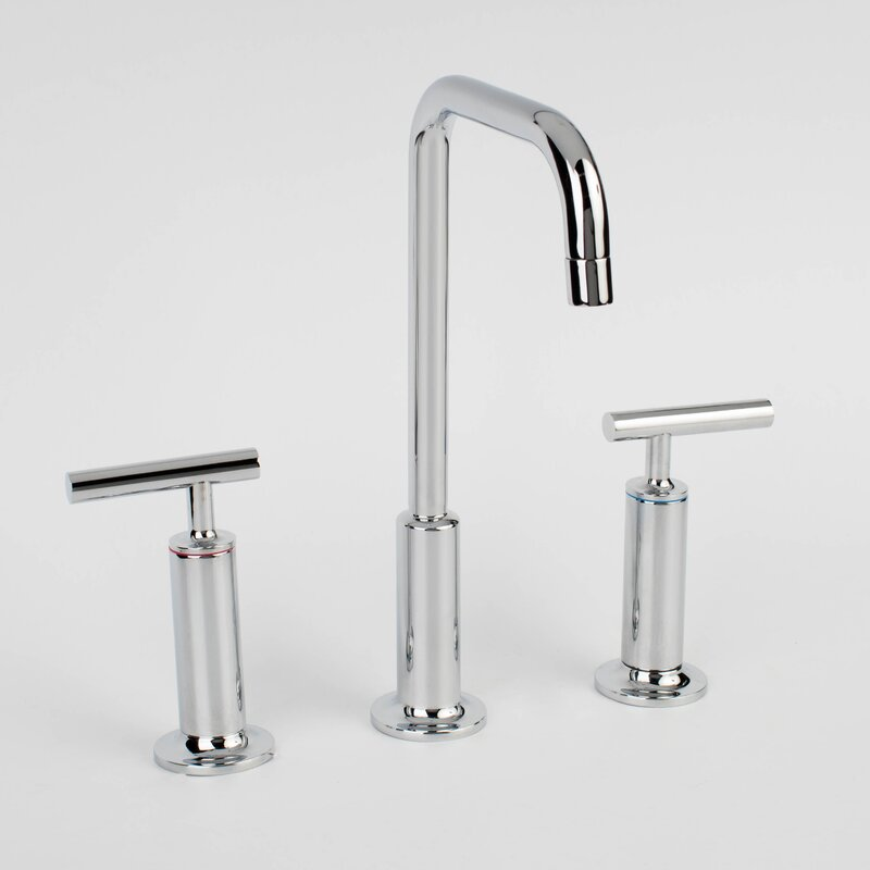 3 piece bathroom faucet