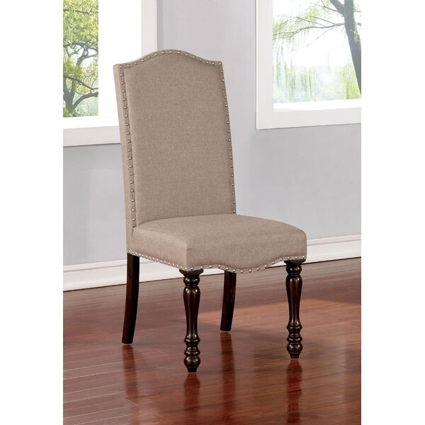 Analia Upholstered Dining Chair (Set Of 2) By Charlton Home