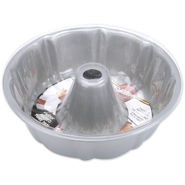 Non-Stick Right Fluted Tube Pan by Wilton