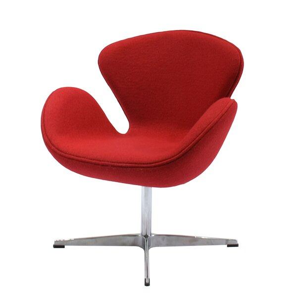 Torney Swivel Lounge Chair by Orren Ellis Orren Ellis