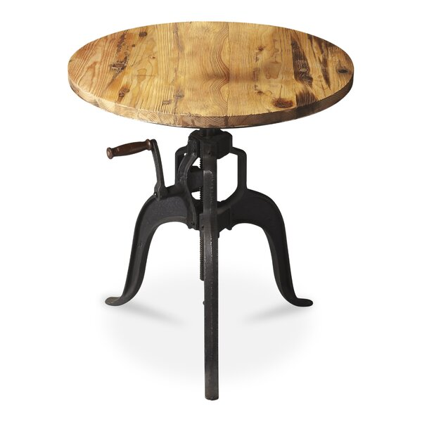 Ayanna Adjustable Height Pub Table by 17 Stories