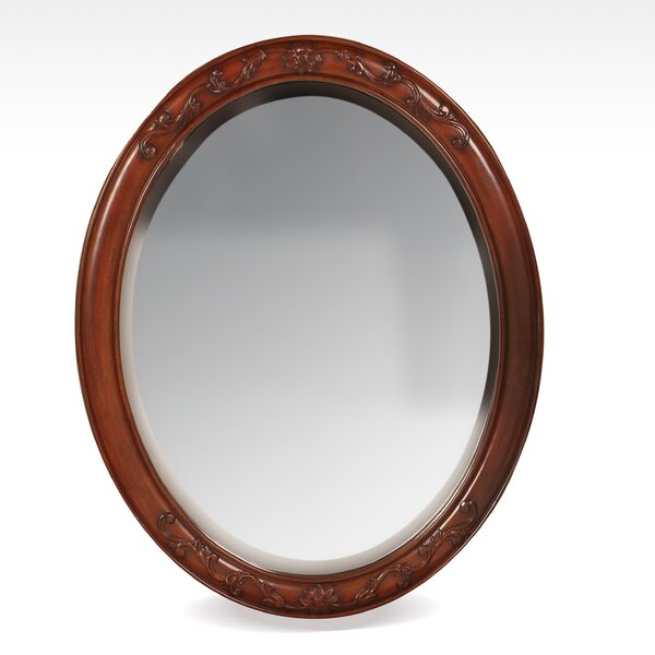 McKean Oval Wall Mirror by Astoria Grand