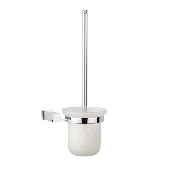 Square Toilet Brush and Glass Tumbler Holder by Dawn USASquare Toilet Brush and Glass Tumbler Holder by Dawn USA