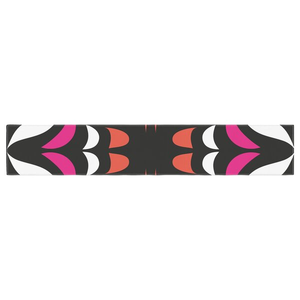 Miranda Mol Hawaiian Retro Table Runner by East Urban Home