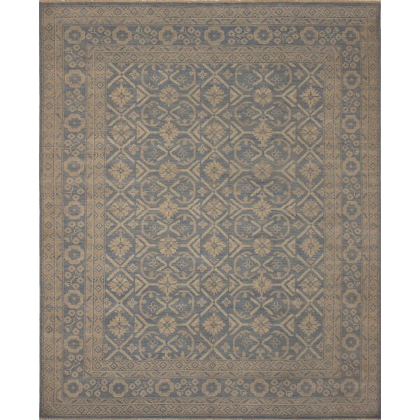 One-of-a-Kind Rothley Fine Oushak Vitoria Hand-Knotted Brown Area Rug by Canora Grey