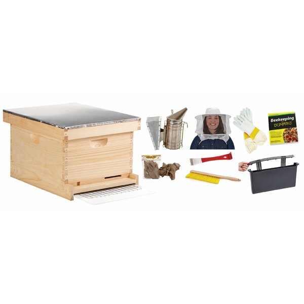 Little Giant 10-Frame Beginner Beehive Kit by Miller Mfg