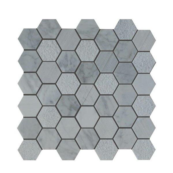 Natural Stone Mosaic Tile in Carrara by QDI Surfaces