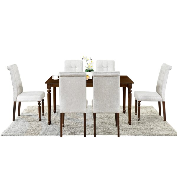 Padillo 6 - Piece Dining Set by Canora Grey Canora Grey