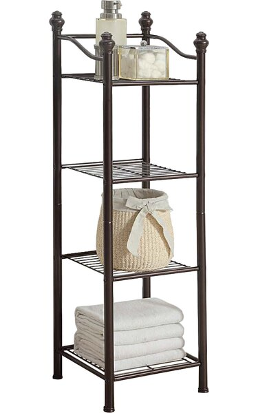 Beland 13 W x 42.9 H Bathroom Shelf by Three Posts