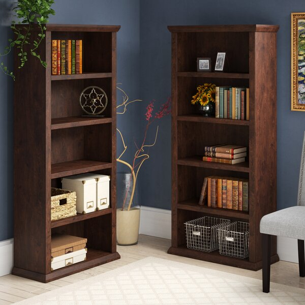 Ferrell Standard Bookcase (Set of 2) by Three Posts