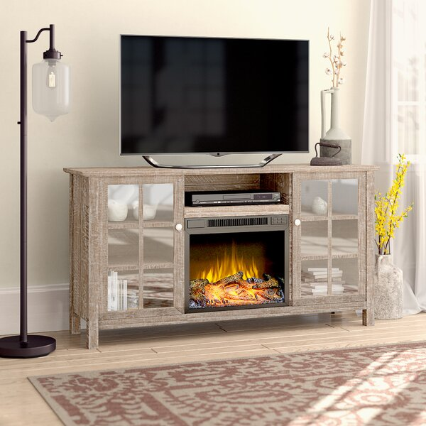 Benoit 60 TV Stand with Fireplace by Laurel Foundry Modern Farmhouse