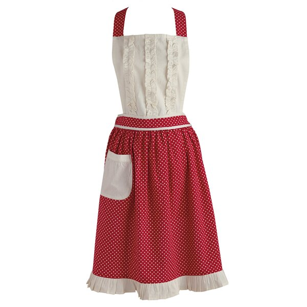 Polka Dot Apron by Red Barrel Studio