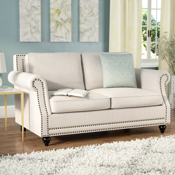 High-quality Cadwell Loveseat by Three Posts by Three Posts