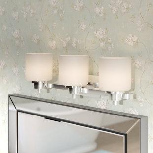 High-End Northlake 3-Light Vanity Light ByThree Posts