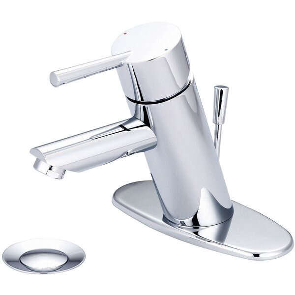 Standard Centerset Bathroom Faucet with Drain Assembly by Olympia Faucets