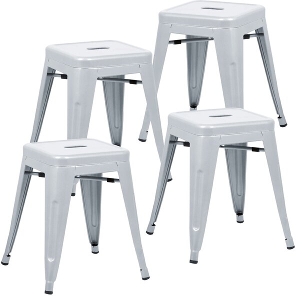 Alyssa 18 Bar Stool (Set of 4) by Zipcode Design