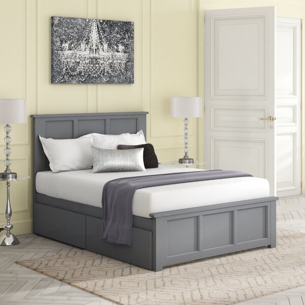 Boligee Full Platform Bed by Three Posts