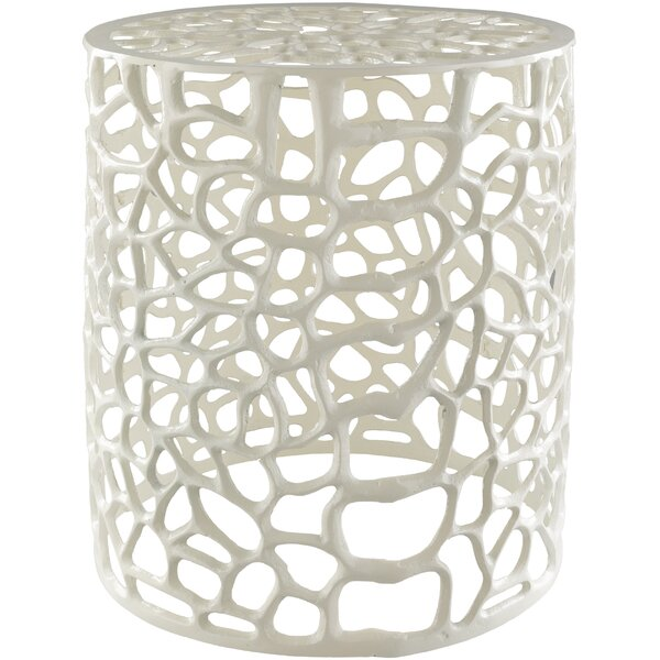 April Accent Stool by August Grove