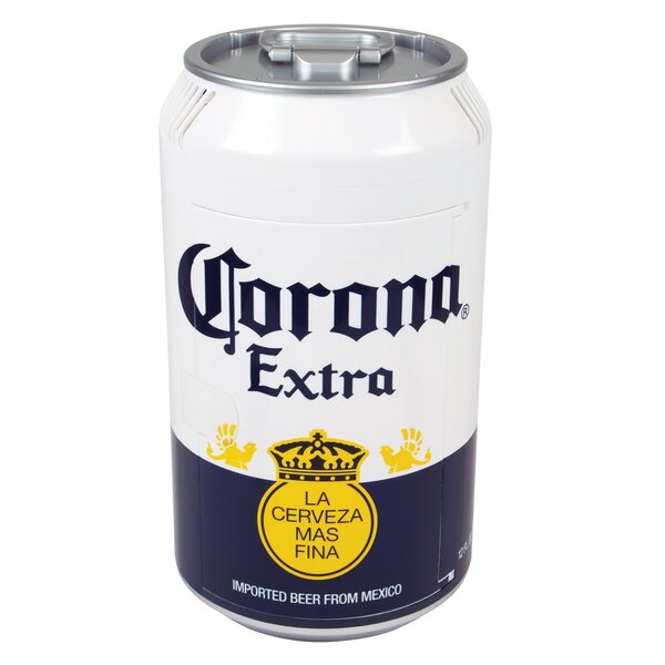 Corona Mini Can Cooler 0.01 cu. ft. Compact Refrigerator by Koolatron