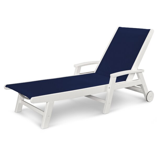 Coastal Chaise Lounge by POLYWOOD®
