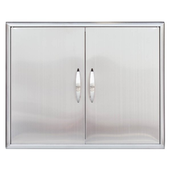 Stainless Steel Double Access Door by Barbeques Galore