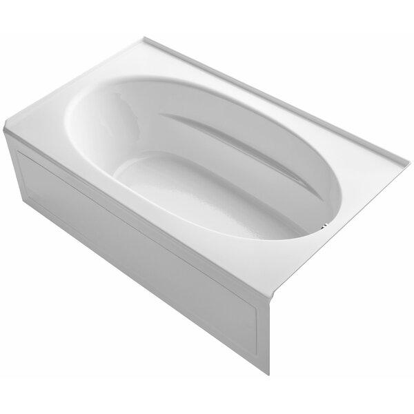 Windward Alcove 72 x 42 Soaking Bathtub by Kohler