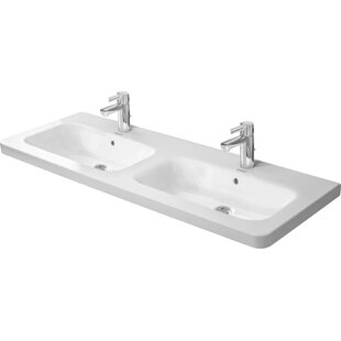 Find the perfect Ceramic Rectangular Vessel Bathroom Sink with Overflow By Duravit