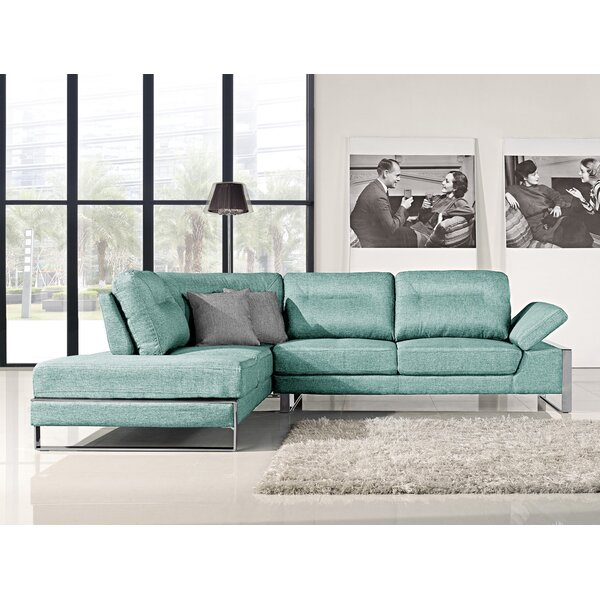 Kealy Sofa Reclining Sectional by Orren Ellis