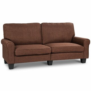 Westberg Curved Armrest Loveseat by Red Barrel Studio SKU:AD889472 Buy