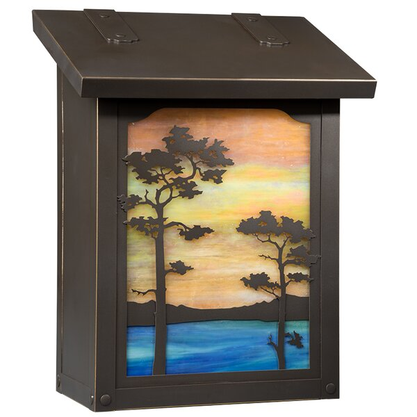 Monterey Wall Mounted Mailbox by America's Finest Lighting Company
