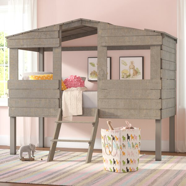 Mammie Twin Low Loft Bed by Three Posts