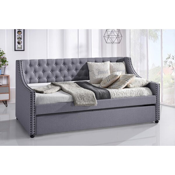 Timmy Twin Daybed with Trundle by Red Barrel Studio Red Barrel Studio