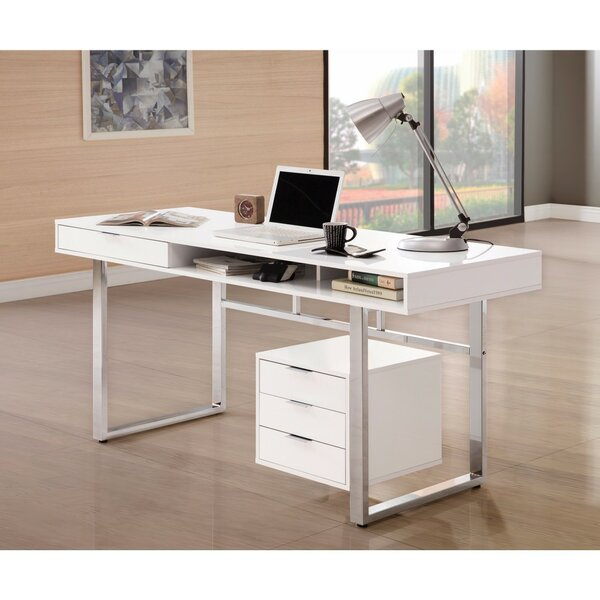 Pack Wooden Desk by Latitude Run