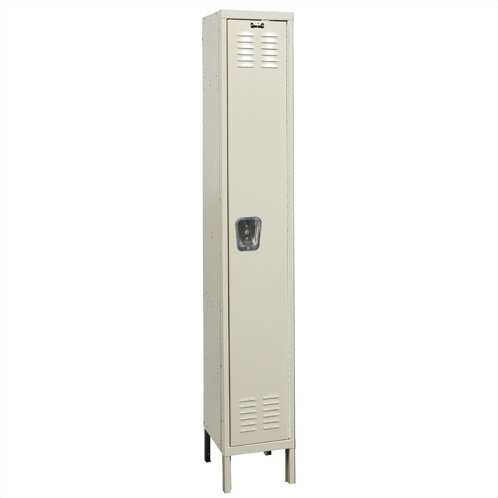 Premium 1 Tier 1 Wide School Locker by Hallowell