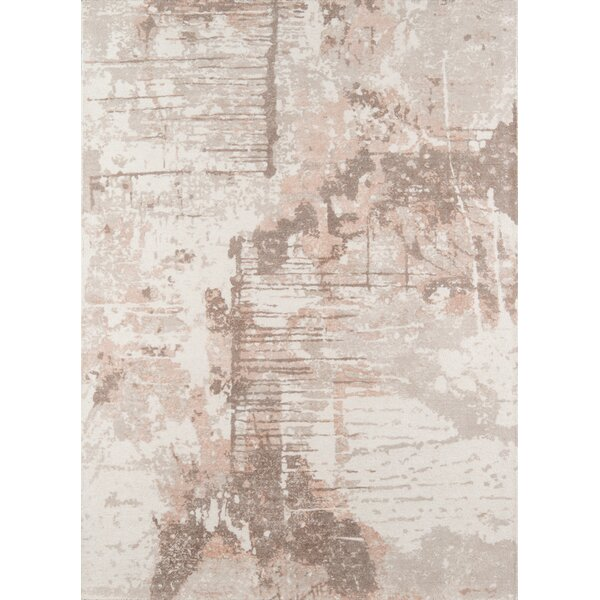 Stanford Hand-Tufted Wool Beige Area Rug by Trent Austin Design