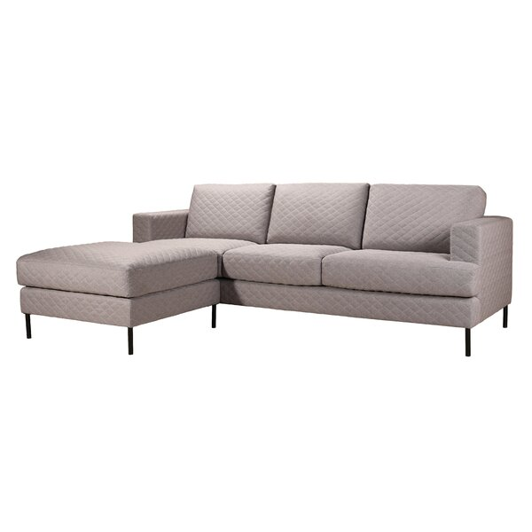 Knepp Reversible Sectional with Ottoman by Brayden Studio