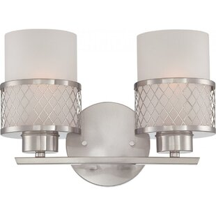 Price comparison Lofton 2-Light Vanity Light By Darby Home Co
