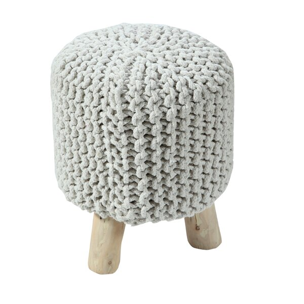 Retiro Padded Cotton Vanity Stool by Bungalow Rose