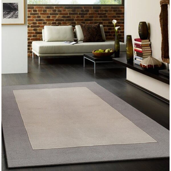 Lacourse Hand-Tufted Light Beige Area Rug by Darby Home Co