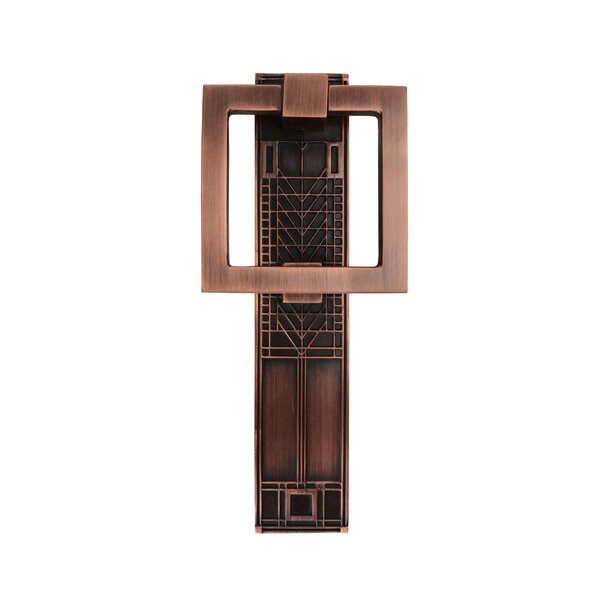 Frank Lloyd Wright Tree of Life Door Knocker by Architectural Mailboxes